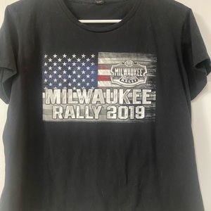 Harley Davidson Milwaukee rally 2019 shirt